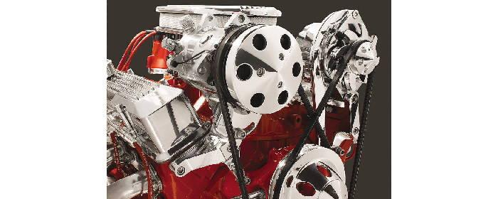 CHEVROLET Air Conditioning Compressor & Alternator Mounting Bracket - 1954  & Earlier 216ci & 235ci Chevy 6-Cylinder
