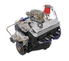 Crate Engine, GM - Dressed 383ci (Chevy Small Block) Vortec Heads, Roller  Cam, Carb & Ignition 420hp - 440ftlb