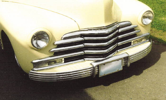 Chevy Parts 187 Bumper Quot Briz Quot Polished Alloy Original 5 Rib