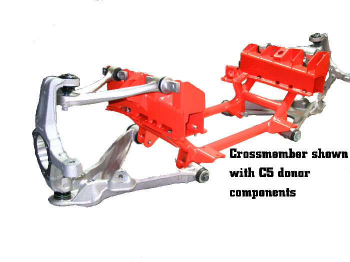 Chevy Parts Suspension Conversion Crossmember Corvette C5 97 04 To 1939 48 Che