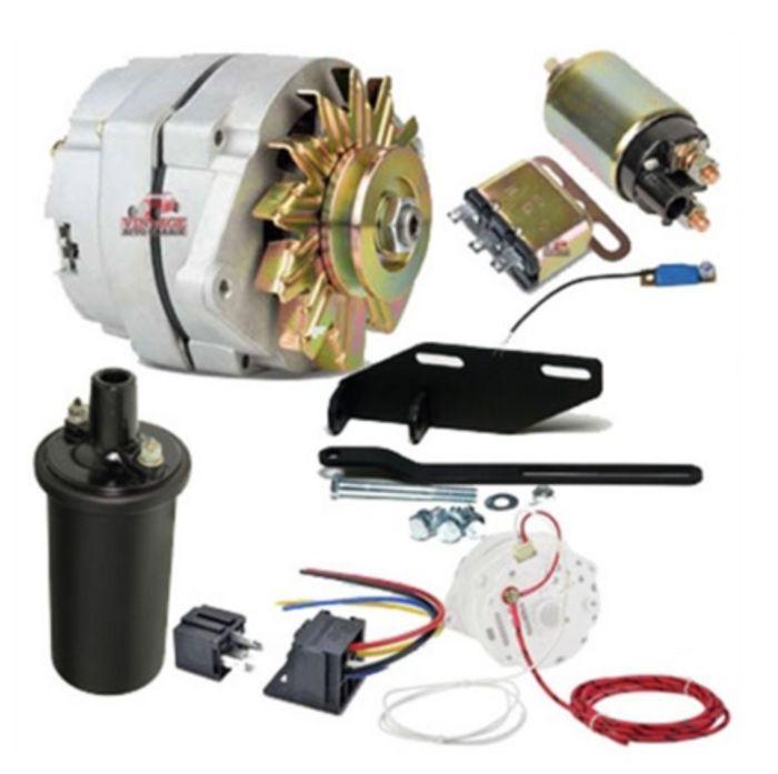 Chevy Parts  U00bb 12 Volt 100 Amp Conversion Kit For Solenoid