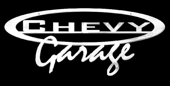 Chevy Parts 187 Sign Quot Chevy Garage Quot Wall Sign Laser Cut