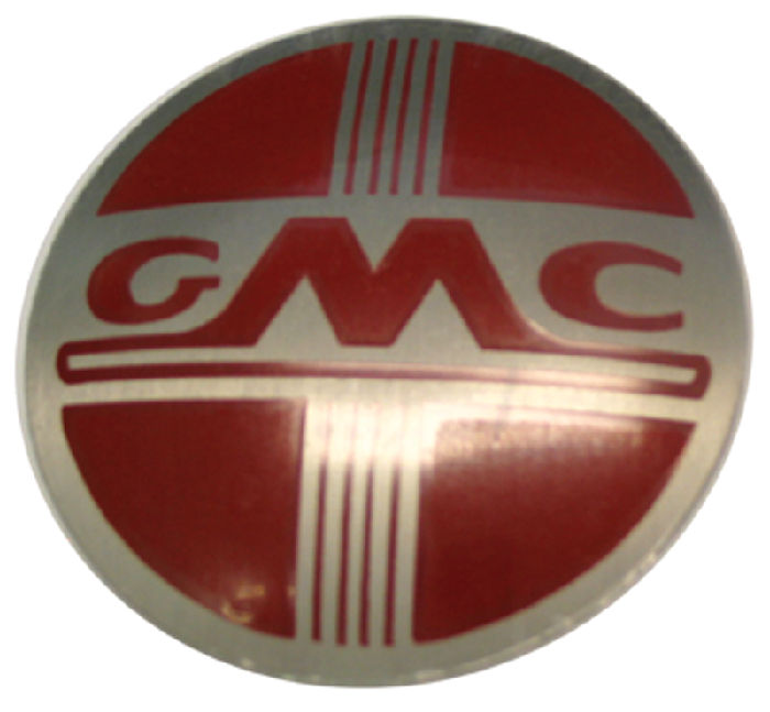 Chevy Parts 187 Heater Decal Quot Gmc Quot Round Emblem