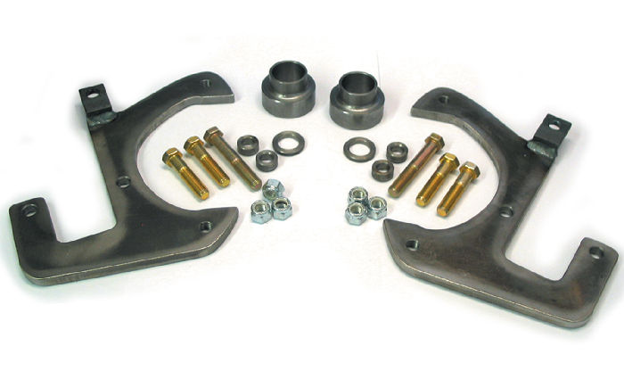 Chevy Parts 187 Brake Disc Conversion Front 41 48 Knee