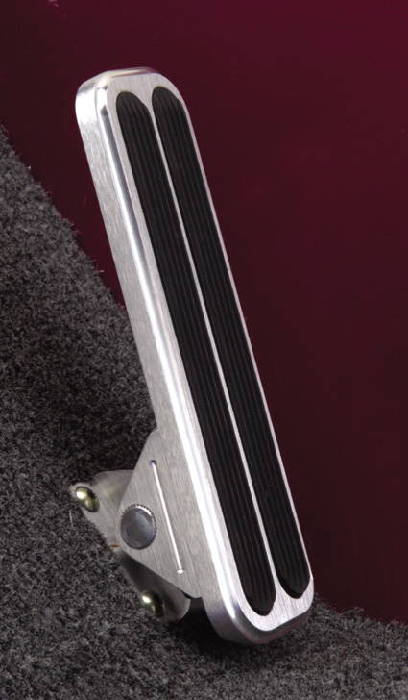 Pedal Pumping Flooring : Chevy parts gas pedal with insert floor mounted