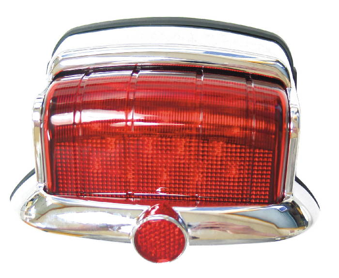 Chevy Parts 187 Led Tail Light 46 48 Plymouth Chrome 12