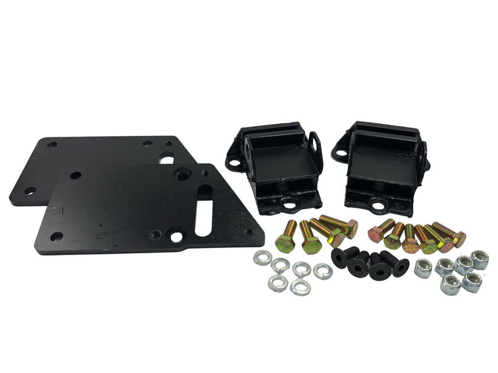 Small Engine Mounting Brackets : Chevy parts motor mount kit mounts ls engines in