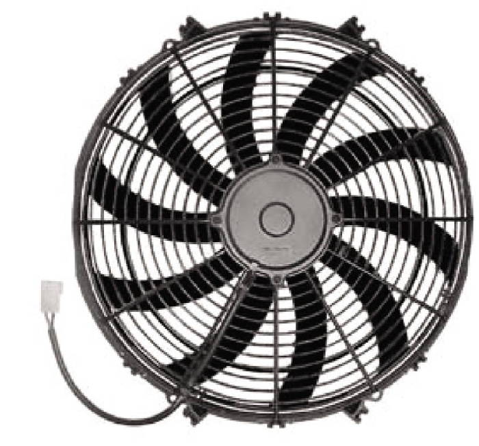16 Blade Fan : Chevy parts radiator electric fan quot reversible s