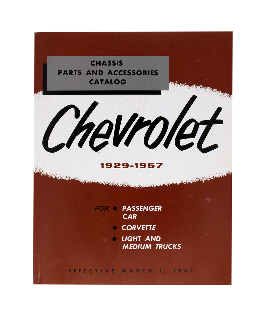 Chevy Parts » Printed Material » Parts Book