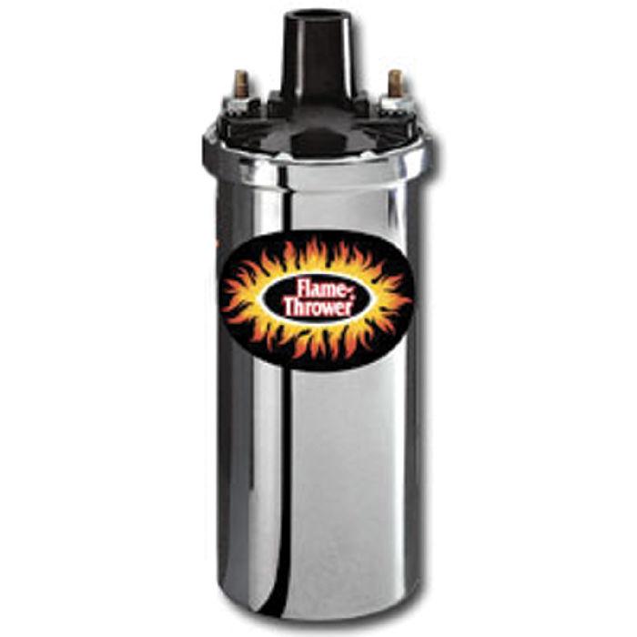 6 Volt Ignition Coil : Chevy parts ignition coil volt ohm chrome pertronix