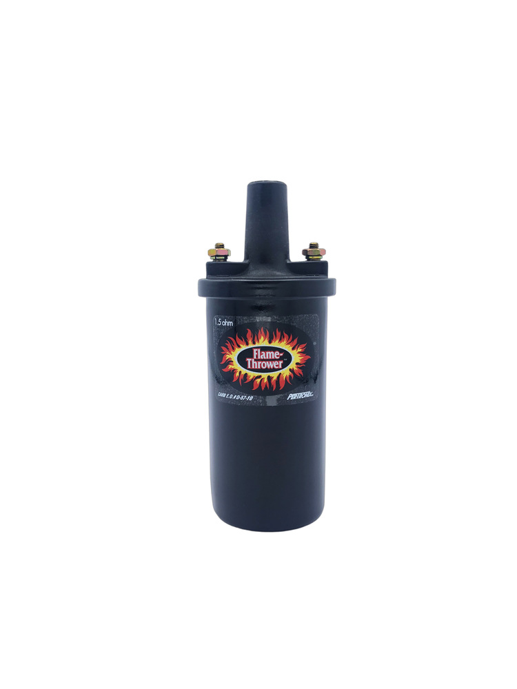 6 Volt Ignition Coil : Chevy parts ignition coil volt ohm black pertronix