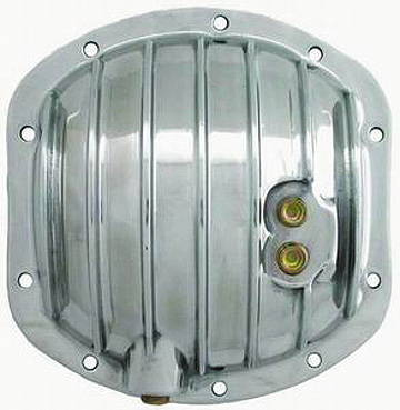 Chevy Parts » Differential Cover, Polished Aluminum Dana 25-27-30