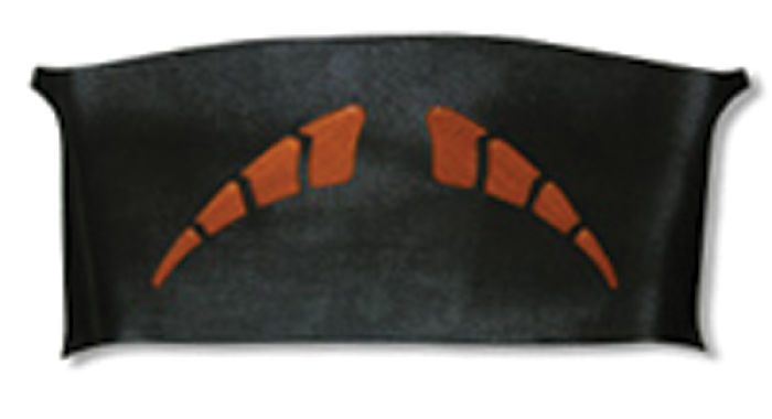Plastic Carpet Cover >> Chevy Parts » Headliner -Smooth Design. Fits 54-55 (1st ...