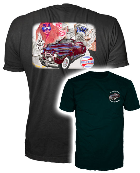 Chevy parts t shirt mural for Murals on the t shirt