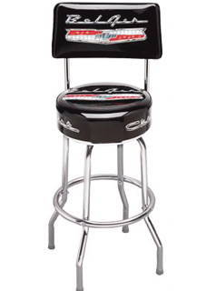 Chevy Parts 187 Bar Stool With Bel Air Logo Swivel With