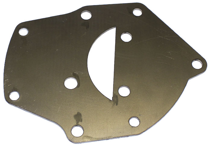 Chevrolet Parts -  Water Pump Adapter Plate For 55 & Up 235, 261 Engines To Use Earlier 41-54 Water Pumps