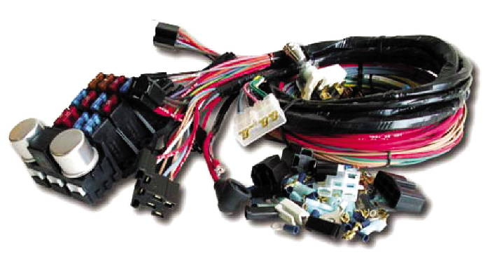 [ZHKZ_3066]  Chevy Parts » Wiring Harness System For GM Engines. 6 Volt Retro Series  (Ron Francis | Rpc Wire Harness |  | Chevs of the 40s
