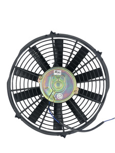 "Radiator Electric Fan, 12"" Push Or Pull, 12v, Straight Blade 1390 CFM. Draws 8.6 Amps Photo Main"