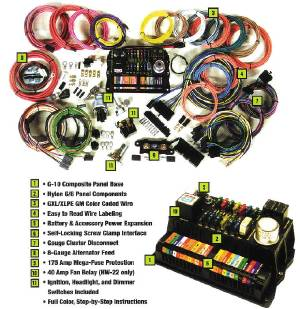 Wiring Harness - 'Highway 22' Street Rod Application Photo Main