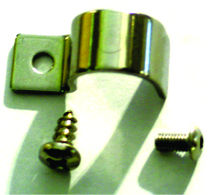 "Line Clamps -1/4"" Single Line Clamp Set Of 12 W/Hardware. Stainless Steel Photo Main"
