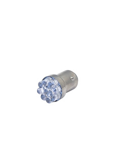Bulb -LED Super Bright Bulb Amber Color 6v  Replaces #1154 Dual Contact (Offset Pins) Photo Main