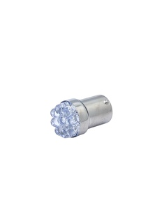 Bulb -LED. Super Bright White 6v, Offset Pin (1154 Style) Tail & Stop Light Photo Main