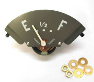 Gauge - Fuel With White Needle. Fits All Comm & Util, 6 Volt Photo Main
