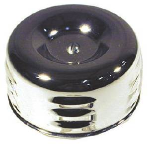 "Air Cleaner Assembly - 4"" Chrome, Louvered Photo Main"