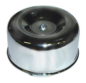 "Air Cleaner Assembly - 4"" Chrome, Smooth Photo Main"