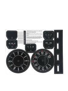 Decals - Instrument With Clock & Odometer Photo Main