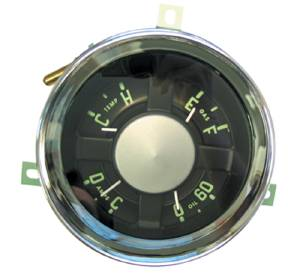 Gauge Cluster - New 6 Volt, 6-Cylinder. 54-55 (1st Series), Chevy Trucks Photo Main