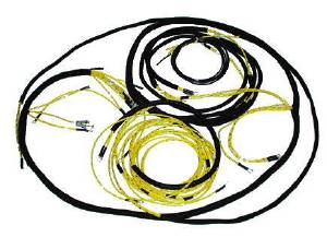 Wiring Harness, Main - Original Cloth Covered Chevy Truck  Photo Main