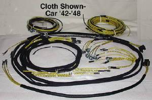 Wiring Harness Chevy Car (Main) With Tail Light Harness (Except Cabriolet) Photo Main