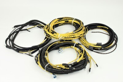 Wiring Harness With Tail Light Harness, For Cabriolet Photo Main
