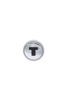 Throttle Knob (Chrome Over Maroon) Photo Main