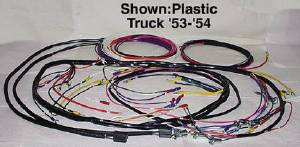 Wiring Harness, Main - For Generator With Turn Signals - Plastic Covered Wire - Chevy Truck Photo Main