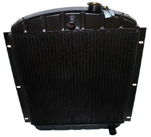 Radiator (Copper Brass), 6 Cylinder, 3 Core (Except GMC) Photo Main