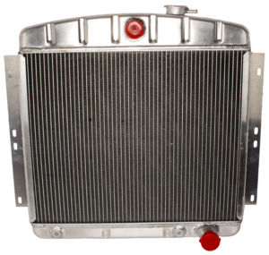 Radiator (Aluminum) Chevy V8, Large Dual Core With Trans Cooler Photo Main