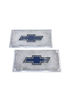 Running Board Step Plates -Die Cast With Bowtie Photo Main