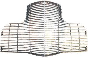 Grille -Billet. Aluminum. Polished Face Of Bars Photo Main