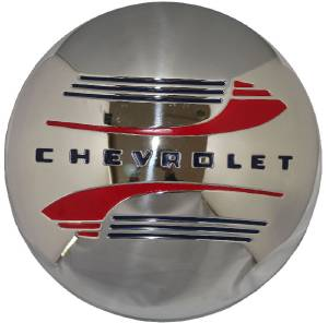 Hub Cap, 41-48 Passenger & 41-46 Commercial (Stainless) Modified For Artillery / Nostalgia Wheels Photo Main