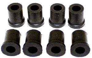 Shackle Bushings, Rubber - (8 pieces) Photo Main