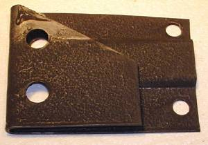 "Exhaust Bracket -Muffler Insulator 3"" X 4"" Photo Main"