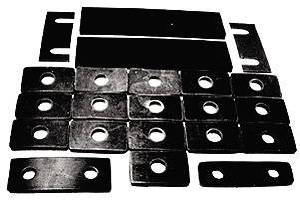 Body Mounting Pads - Body To Frame, Convertible Photo Main