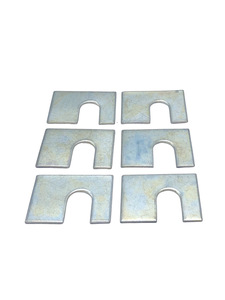 "Body Mount Shims, 1/16"" Thick, 1-3/4"" X 1-1/8"" With 1/2"" Slot Photo Main"