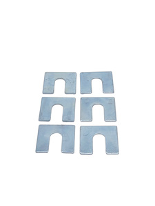 "Body Mount Shims, 1/16"" Thick, 1-1/4"" X 1-1/8"" With 1/2"" Slot Photo Main"