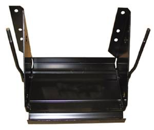 Battery Tray - Complete With Sides And Studs. 47-55 (1st Series) Photo Main
