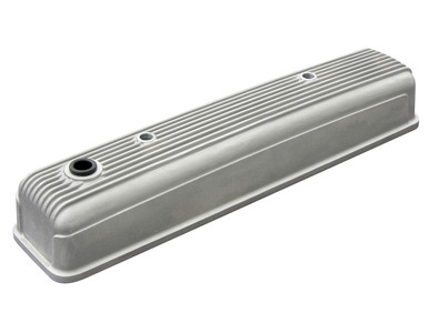 Valve Cover - Finned Plain Aluminum For 216ci, 235ci & 261ci Photo Main