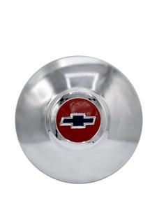 Hub Cap - Modified For Artillery / Nostalgia Wheel, Red Center With Blue Bowtie Photo Main