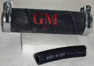 "Gas Tank Filler Hoses & Vent, w/""GM"" Script Photo Main"